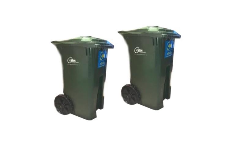 Residential waste bin