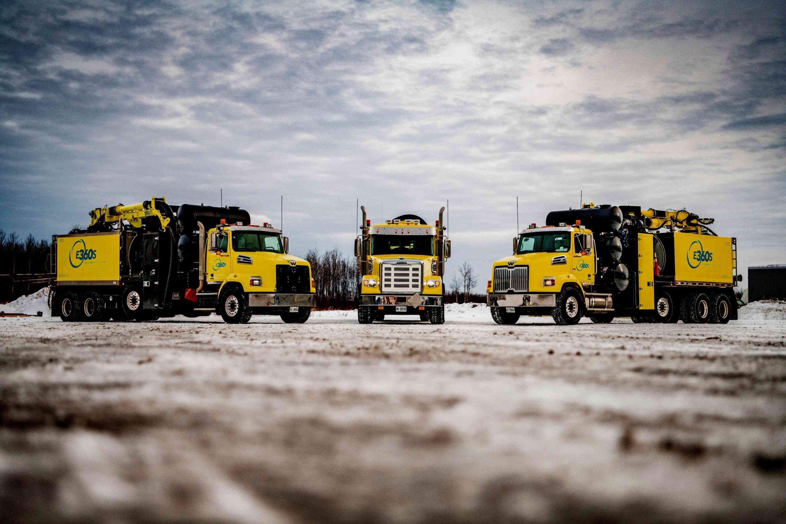 Environmental 360 Solutions Trucks